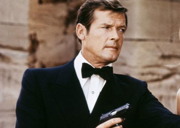 Muere Roger Moore, actor que interpretó al 007
