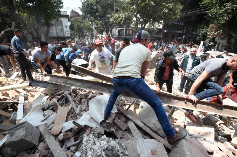 ¿Porqué se registró el temblor en México?