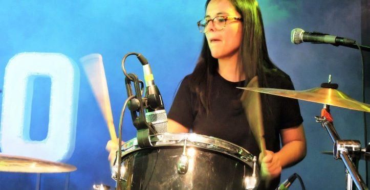 Lucía Riojas, la baterista que busca una candidatura independiente al gobierno de la CDMX