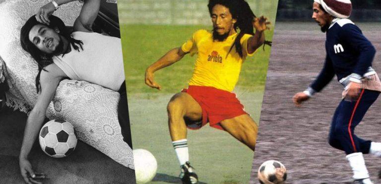 La música y el fútbol, las dos mitades de Bob Marley
