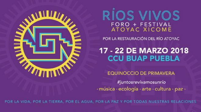 Foro + Festival Ríos Vivos Atoyac Xicome en pro del rescate del Rio Atoyac