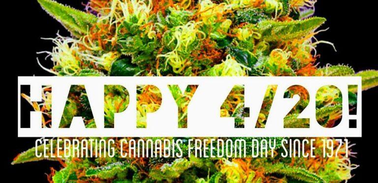 Cuatro veinte o 4:20 el día en que la Marihuana tiene su fecha de reivindicación mundial