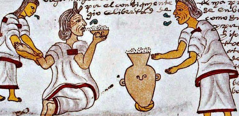 Del México antiguo: El pulque, la llamada bebida de los dioses