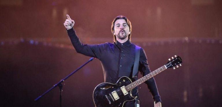 Juanes interpretó ´Seek And Destroy´ de Metallica y todos perdieron el control