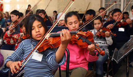 Anuncia SEP programa de Educación Musical y Orquestas Escolares