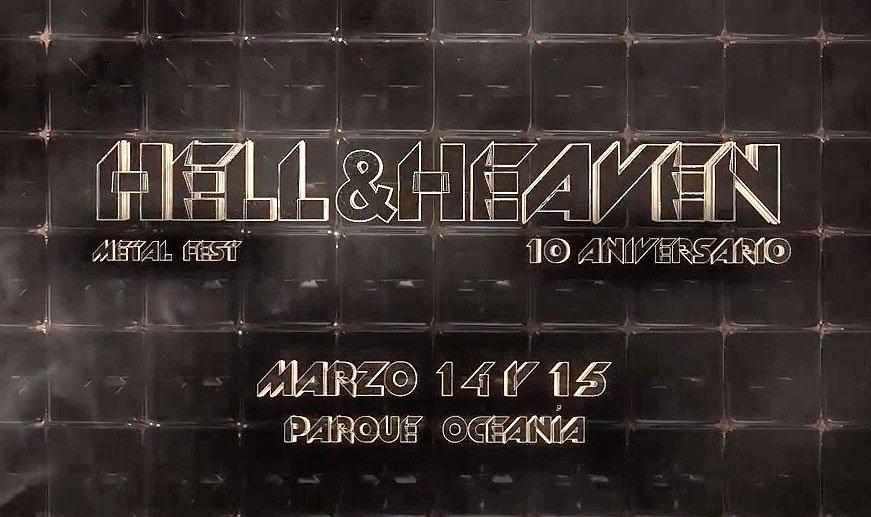 Hell And Heaven celebrará su décimo aniversario