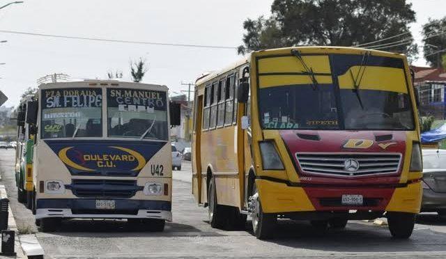 Así queda la nueva tarifa del trasporte público en Puebla tras aumento