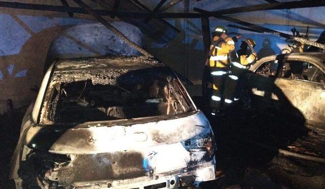 Autos incendiados, robo de celulares y carteras es lo que dejó el Tecate Comuna en Cholula