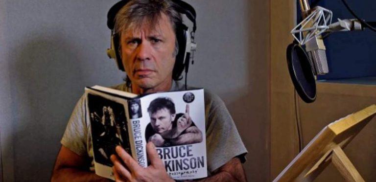 """Bruce Dickinson presentará en la Ciudad de México su Best Seller """"What does This Button do?"""""""