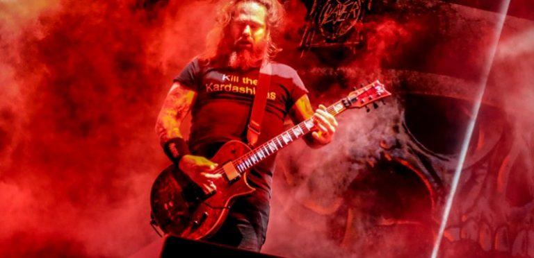Guitarrista de Slayer y Exodus da positivo por coronavirus