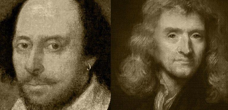 Newton-Shakespeare-Cuarentena-Coronavirus