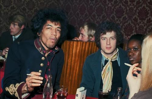 La noche en que Jimi Hendrix destronó a Eric Clapton