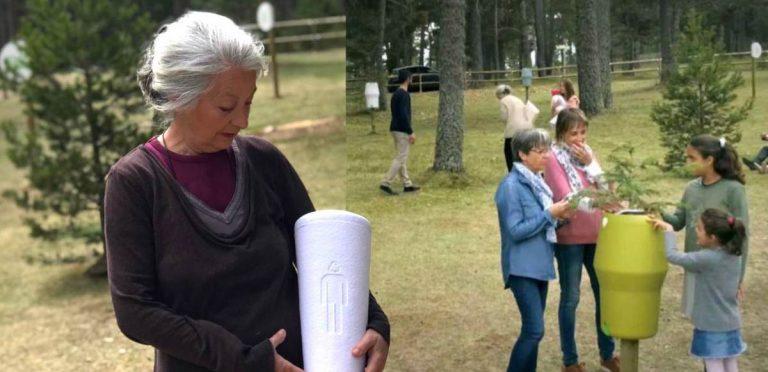 Crean el primer cementerio ecológico donde los cuerpos se transforman en árboles