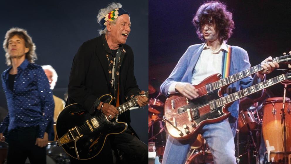 La noche en que Jimmy Page se coló en un disco de los Rolling Stones