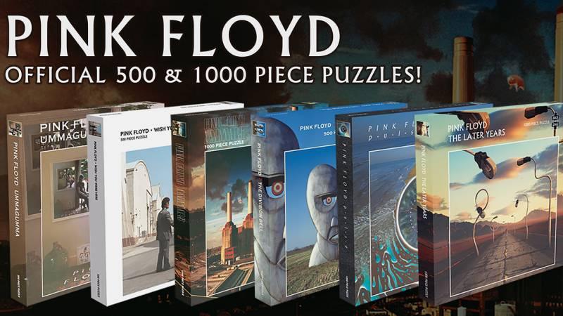 Pink Floyd presentan 6 rompecabezas oficiales con sus mejores portadas