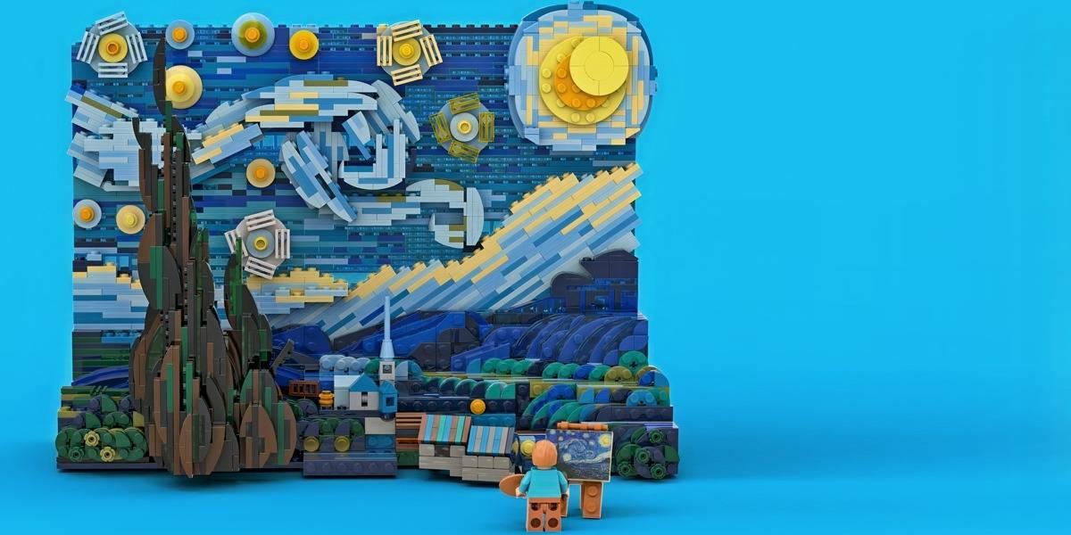 LEGO recreará La Noche Estrellada de Vincent van Gogh en un set de 1.552 piezas