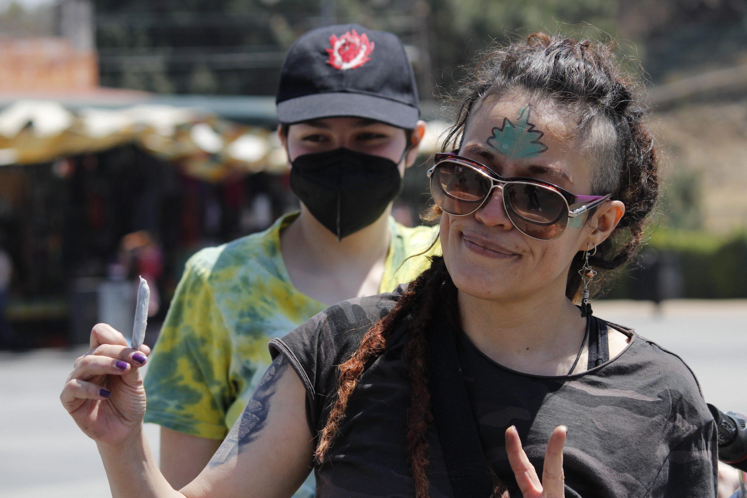 Rodada Canábica Ancenstral reunió alrededor de 100 cicilistas