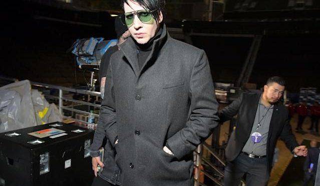 Marilyn Manson demandado por agresión sexual y tráfico sexual