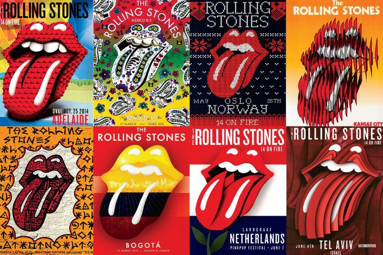 """La historia de la """"lengua stone"""", el logo más emblemático del rock"""