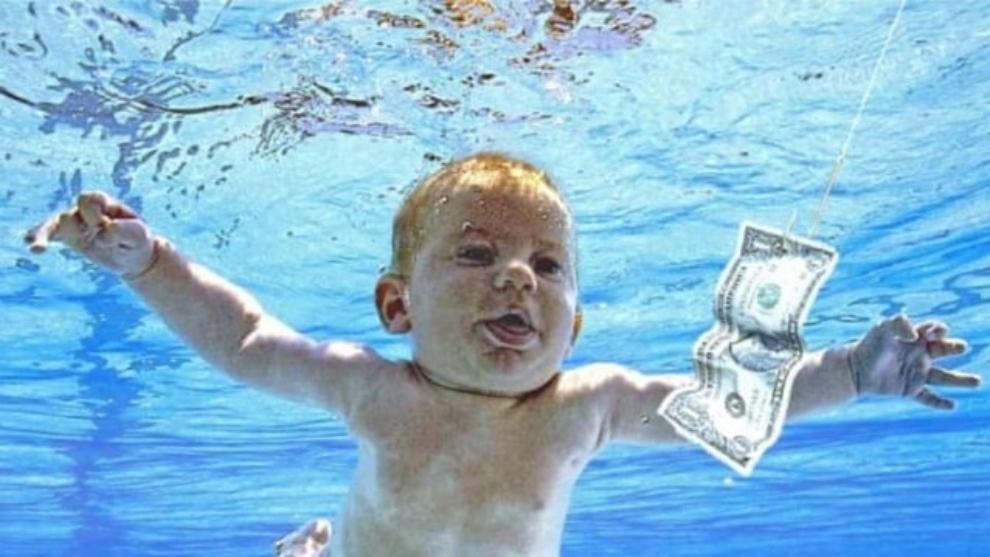 Bebé de la portada del disco Nevermind, demandará a Nirvana 30 años después