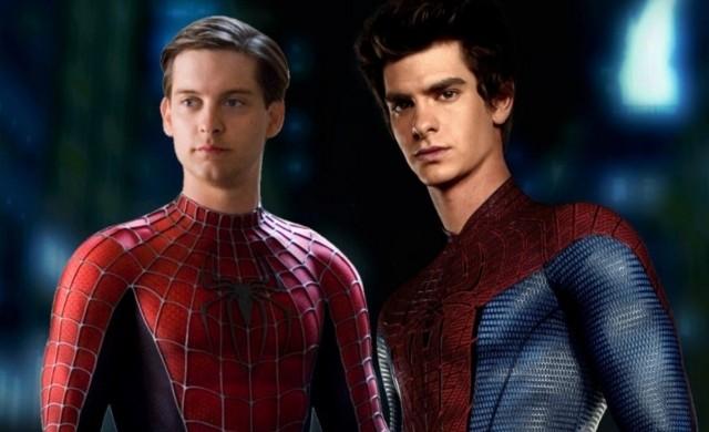 ¿Andrew Garfield y Tobey Maguire juntos con el traje de Spider-Man? Filtran imágenes