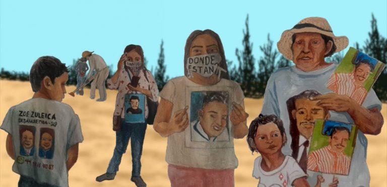 EXPOSICIÓN RODANTE: Narrativas y Memorias de la Desaparición en México