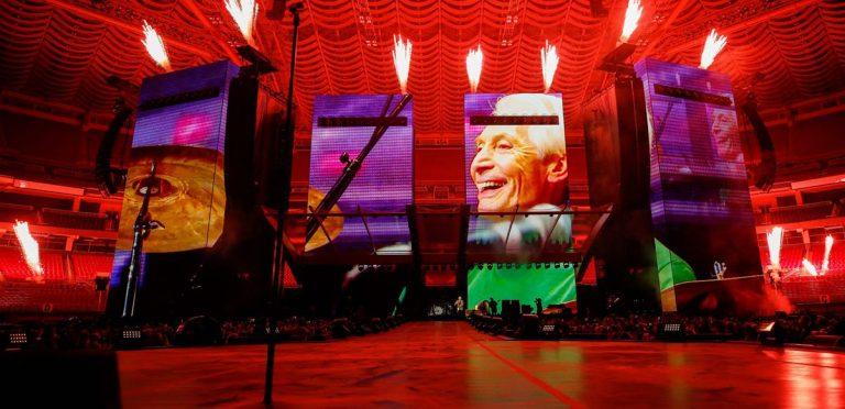 Así fue el regreso de los Rolling Stones sin su histórico baterista Charlie Watts