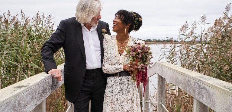"""""""Estoy muy feliz"""": Roger Waters se volvió a casar y las redes sociales se vuelven locas"""
